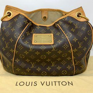 Pre-owned Louis Vuitton Galliera Monogram Hobo Bag